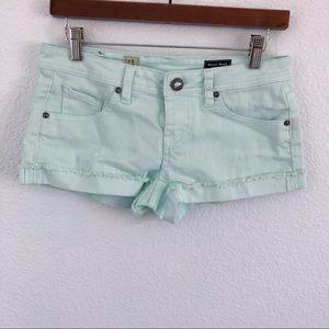Volcom | minty green shorts